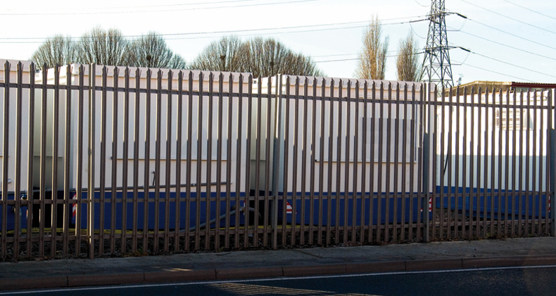 Industrial commercial fencing london